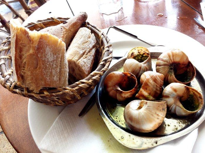 Escargot Lunch