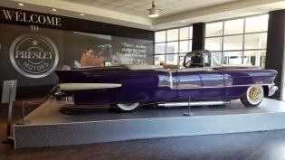 1956 Purple Cadillac Eldorado Convertible