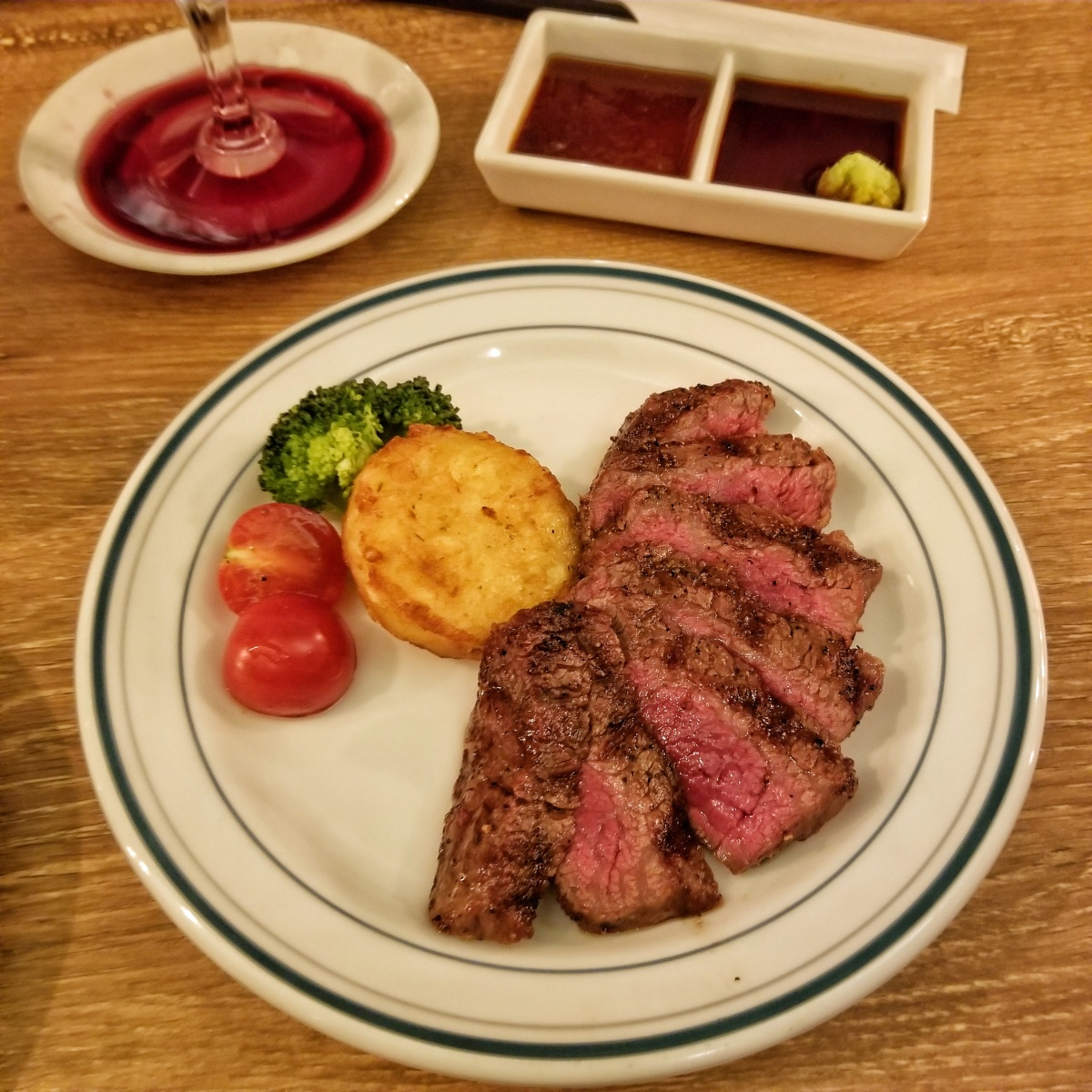 Kyoto Dinners: Steak & Wine